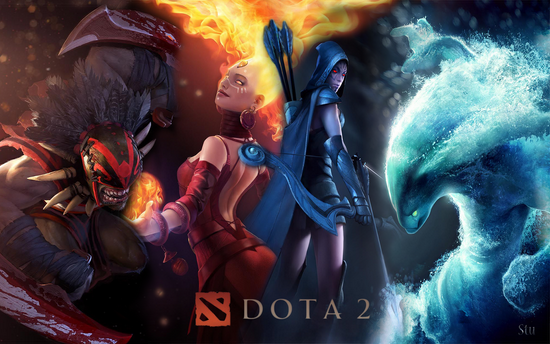 Dota 2 for PC AND MAC