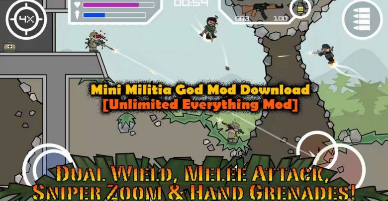 Enjoy the Ultimate Impact of Mini Militia God Mod