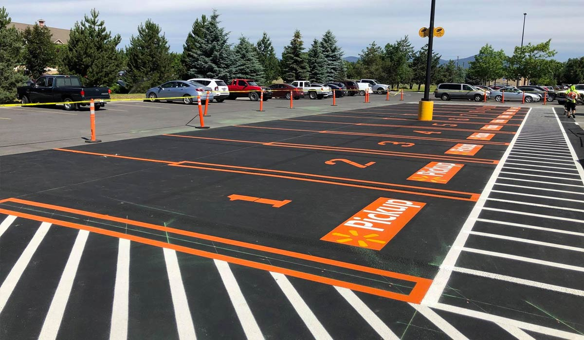 Top 4 Reasons Why Parking Lot Striping is Important