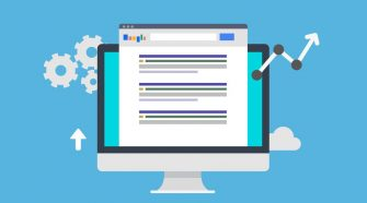 SEO Search Engine Optimization - Flat Style Design