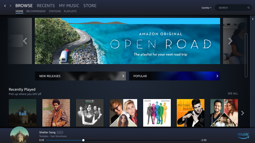 Amazon Prime Music and Music Limitless