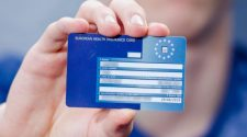 What are the benefits of using the online system to get an EHIC card?