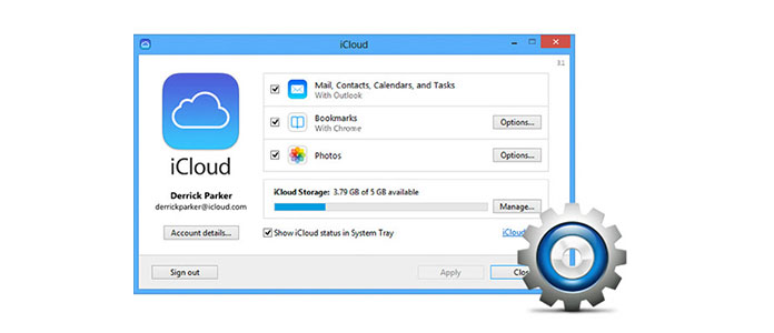 Get iCloud Install and setup