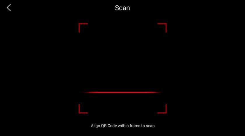 RoS Mobile QR Code Scan