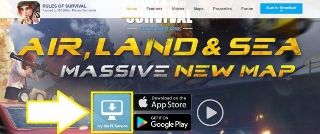 Rules of Survival Game Official Website